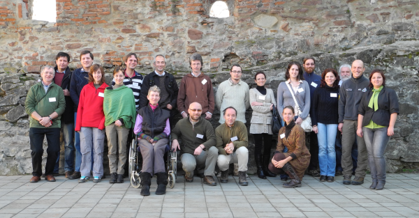 Participants of the butterfly monitoring workshop, Sighisoara 2012